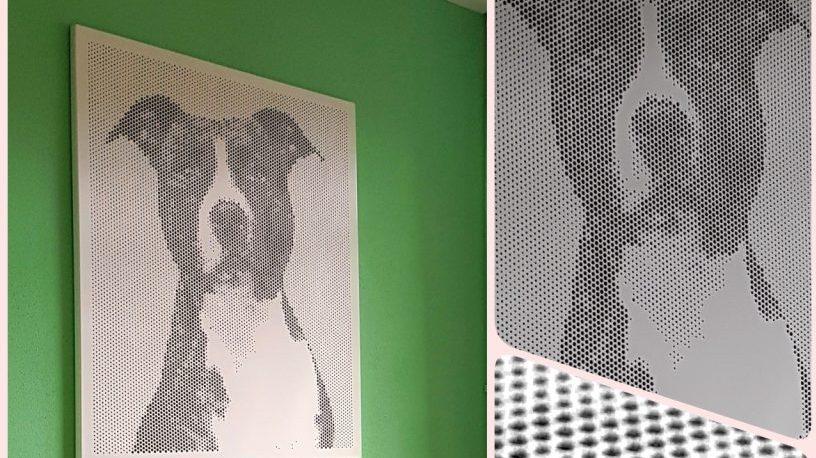 Hond spot art