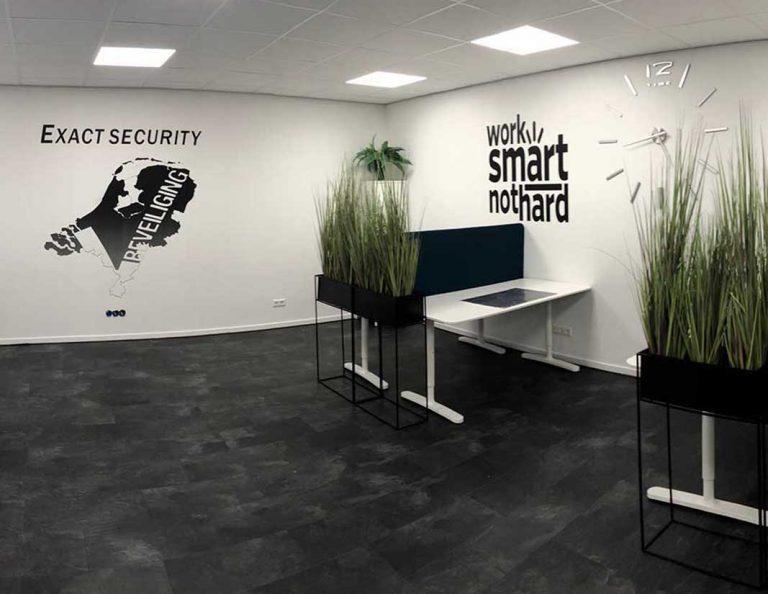 Muurprints kantoor