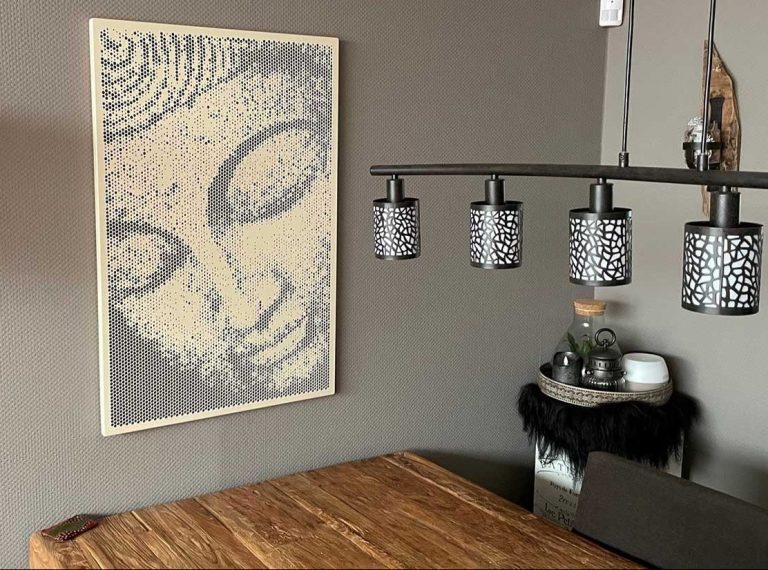 Spot art Buddha